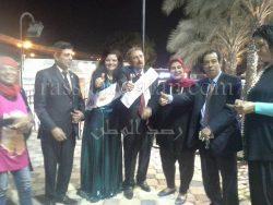 من قلب القاهرة حفل تكريم وتنصيب السادة السفراء للنوايا الحسنة بقرية الفردوس