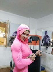 """الرياضة ليست مهنة يحتكرها الرجال ،"""" خلود عصام """" بنات مصر يقتحمن رياضة """"كمال الأجسام"""""""
