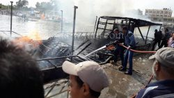 حصري: تفاصيل جديدة في حادث حريق لنش (نادر الوجود) بميناء المطرية دقهلية…العناية الإلهية أنقذت المنطقة من كارثة محققة