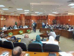 مكتبة مصر العامة ببورسعيد تشارك في اجتماع المحافظ لمناقشة المخطط الإستراتيجي لبورفؤاد