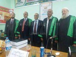 فعاليات مناقشة رسالة ماجستير بكلية الدراسات الإسلامية والعربية جامعة الأزهر