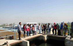 """""""رصــــد الوطن"""" حملات توعية لشركة المياة لطلاب المدارس بسوهاج"""