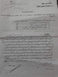 بالمستندات…فساد يسود منطقة كوم أبو راضي ببني سويف