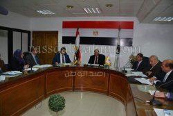 محافظ سوهاج ومحمد حسام واجتماع خاص بالتعليم