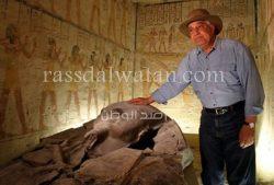 زاهى حواس: ما تم اكتشافه من آثار مصر 30% فقط.. و70% منها فى باطن الأرض