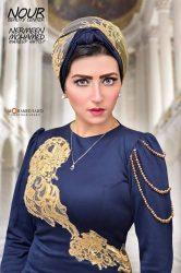 """بالصور… الموديل المتألقة """"أميرة أبو الروس"""" تشرق بأناقتها من جديد"""