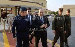 """الفريق """"محمود حجازى"""" يغادر إلى اليونان فى زيارة رسمية تستغرق عدة أيام"""