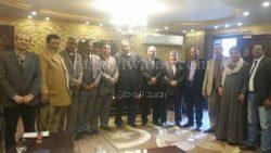 اجتماع اللجنة التأسيسيّة للمجلس القومى للعمال والفلاحين
