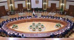 """السيسى لـ""""علماء مصر"""": الدولة حريصة على التواصل الحقيقى والجاد معكم"""