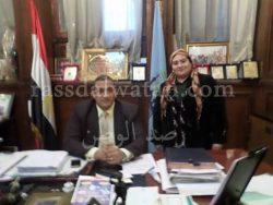 حوار مع سيادة اللواء اركان حرب محمد ايمن عبد التواب نائب المنطقة الغربية والشمالية