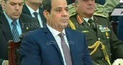 السيسي للمصريين: انتو شعب أصيل وتحمل كثيرا.. ونفسى أعملكم كل حاجة حلوة