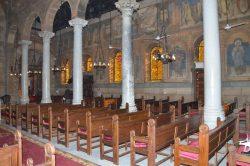القوات المسلحة تنتهى من ترميم الكنيسة البطرسية