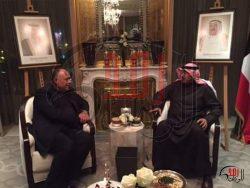 وزير الخارجية سامح شكري يلتقي بوزير خارجية الكويت على هامش مؤتمر باريس للسلام