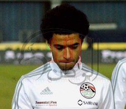 اصابه عمر جابر في تدريبات المنتخب