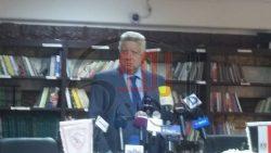 مؤتمر صحفي للمستشار مرتضي منصور لإعلان قناه الزمالك