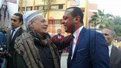 بالصور…النائب عمرو ابو اليزيد  يعقد جلسة صلح بين عائلتين حقنا الدماء ببولاق الدكرور