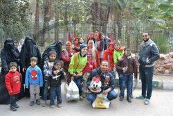 رحلة ترفيهية لأطفال مركز ذوى الإحتياجات الخاصة بجامعة عين شمس