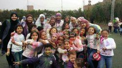 بالصور…مدرسة التربية الحديثة بالهرم تحتفل بمهرجان الألوان