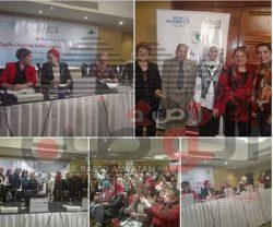 فعاليات المؤتمر الصحفي للمركز المصري لحقوق المرأه