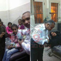 اضراب سيدات واطفال النواصر بمستشفى اسنا الأقصر