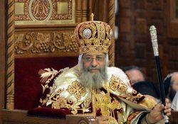 الكنيسة تعلن سلامة البابا تواضروس في انفجار الاسكندرية