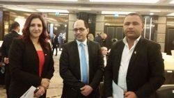 """بالصور….. السفير""""محمد أبو ريا""""يشارك في مؤتمر لدعم الشباب"""