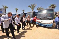 محافظ بورسعيد : سيارات نقل داخلي جديدة لخدمة مشروع الاسكان الاماراتي