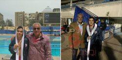 تألق السباح أحمد يونس بكأس مصر