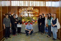 افتتاح قاعة المهندس حسن حمزة مؤسس مقبرة توت عنخ امون بالقرية الفرعونية