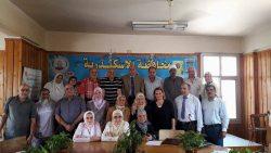 اجتماع مجلس الاعلام الريفى بمديرية الزراعة بالاسكندرية