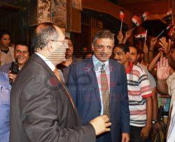 السيسى ينيب عبدالمنعم لحضور احتفال ليلة القدر بمسجد العارف بالله بسوهاج