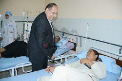 بالصور محافظ سوهاج يفتتح وحده الغسيل الكلوى بمستشفى العسيرات