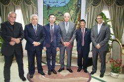 فودة يستقبل وفدا دبلوماسيا فيتناميا في إطار تنشيط العلاقات وزيادة الوفود السياحيه