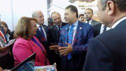 وزير الصحة والسياحة يزوران السياح مصابى هجوم الغردقة بمعهد ناصر