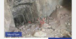 العثورعلى مقبرة أثرية أثناء تنقيب فلاح عن الآثار أسفل منزله بالمنيا
