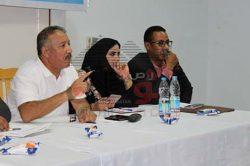 النائبة سارة صالح تشارك بالحوار الشباب الوطني بمدينه نوبيع بمحافظة جنوب سيناء
