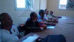 مدير عام الادارة التعليمية بالعياط يجتمع برؤساء مراكز التفاتيش وموجهي العموم.