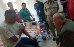 مدير أمن دمياط: الضابط المصاب واجه رصاص الإرهابيين بشجاعة