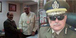 المهندس فتحى جلال يهنئ اللواء عمر عبدالعال والشاذلى