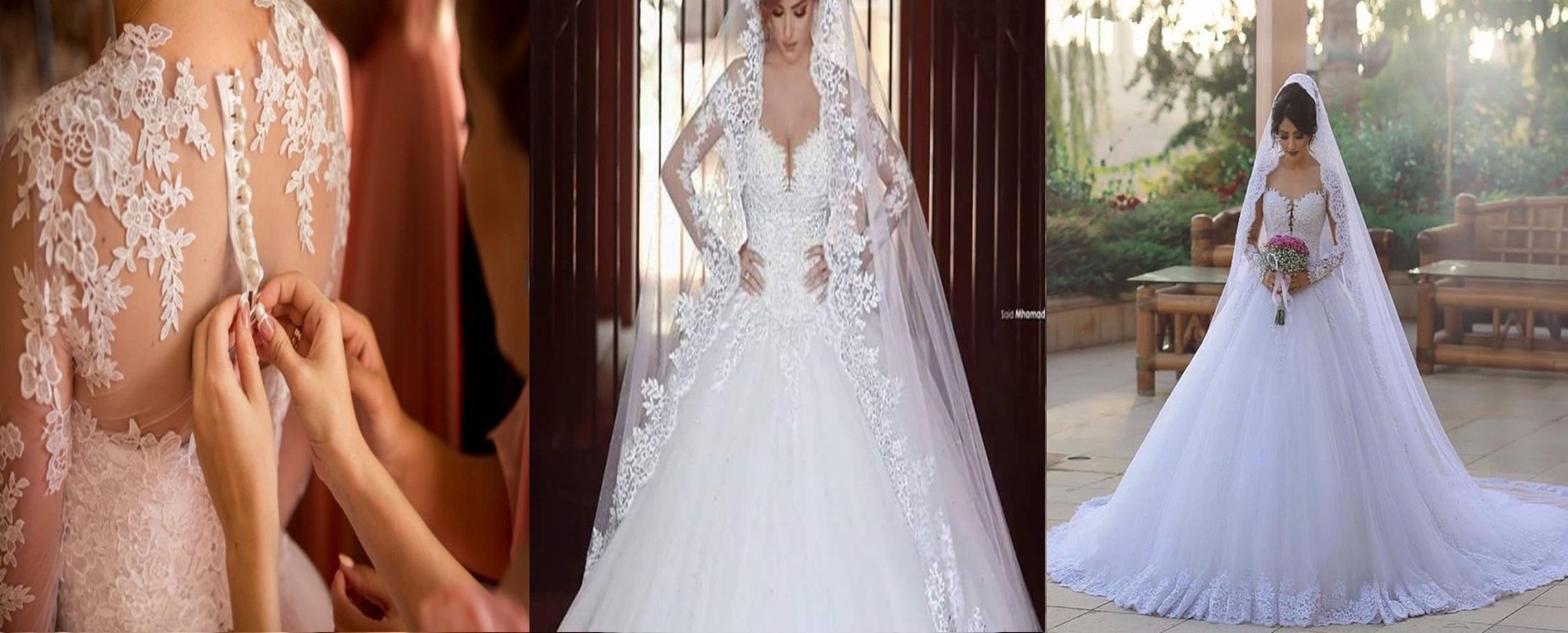 3b73c84cdf856 بالصور..كونى أميرة فى ليلة العمر بأحدث صيحات الموضة لفساتين الزفاف لــ2017