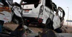 حادث تصادم على الطريق الدولى- طنطا -كفر الشيخ