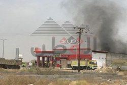 بالصور…السيطره على انفجار ضخم بمحطه وقود لتمويل السيارات بالسعودية