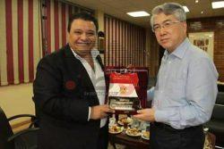 خالد جلال يجتمع برئيس جهاز السينما الصيني لبحث سبل التعاون بين البلدين