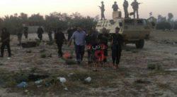 مقتل 3 إرهابيين واستشهاد شرطيين فى استهداف قوة أمنية بالعريش