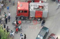 بالصور…انهيار سكينة المحول الكهربائى تسبب فى فزع الأهالى وسط مدينة دمنهور