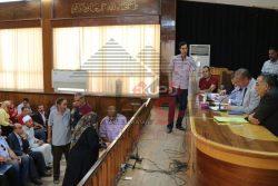 بالصور…مناقشة 49 شكوى فى لقاء المواطنين الأسبوعى بكفر الشيخ