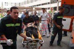وقوع 20 مصاب في حادث تصادم بشع بين 3 سيارات على الطريق