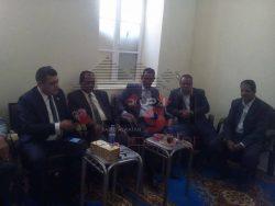 رئيس مجلس مدينة العياط  يدين الحادث الإرهابى الغاشم بالعريش
