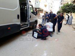اشتباه خاطئ بوجود قنبله بأحد شوارع كفر الشيخ