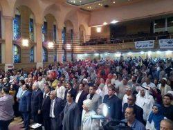عودة المسرح العمالى بإحتفالية أعياد النصر بمقر الإتحاد العام بالجلاء بمشاركة سفراء السلام